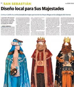 Reyes magos donostia cinthya