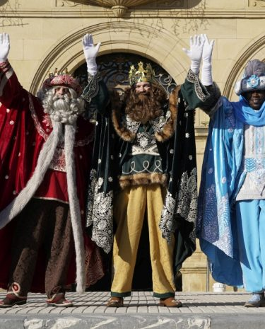 reyes magos. lobo altuna. donostia 5.1.2019
